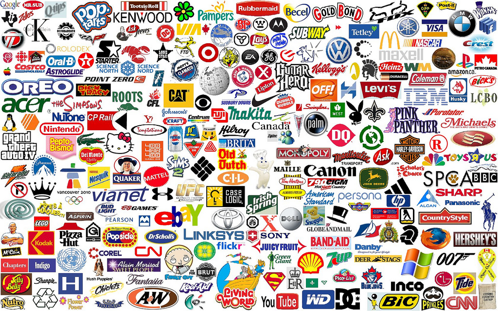 Logos are all around us! It's in the clothing we wear, the food we eat ...